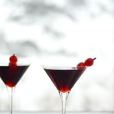 Cherry Cheesecake Martini