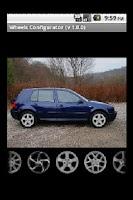 Screenshot of Wheels Configurator