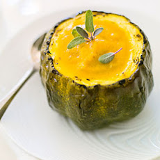 Roasted Squash Soup with Sage