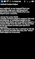 Screenshot of Import Phone Contacts