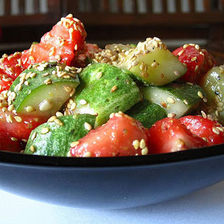Cucumber Strawberry Salad recipe – 41 calories