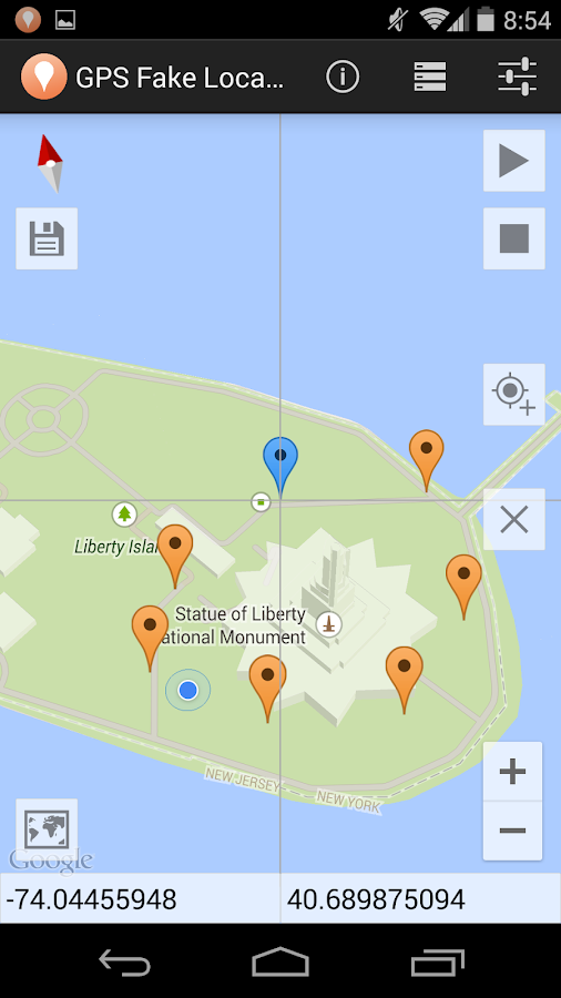 GPS Fake Location Toolkit Screenshot 1