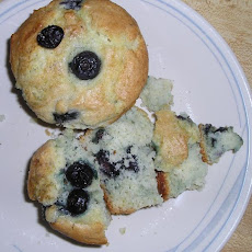 Blueberry Muffins à La Alton Brown (Good Eats on Food Net