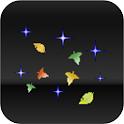 落ち葉と星のライブ壁紙 icon