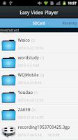 Screenshot of Easy Video Player