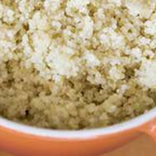 Garlic Quinoa with Parmesan Cheese