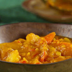 Pumpkin Vegetable Curry Stew