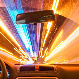 wrap 7 by Marius Ticala - Abstract Light Painting ( car, lights, light painting, christmas lights, light trails, , colorful, mood factory, vibrant, happiness, January, moods, emotions, inspiration )