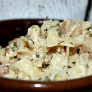 Cream Cheese Chicken Pasta