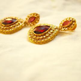Elegant by Ashwini Neetan - Wedding Other ( elegant, beautiful, indian, pink, earrings,  )
