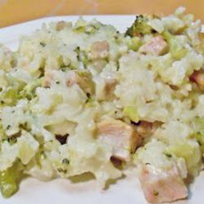 Pork, Broccoli and Rice Casserole