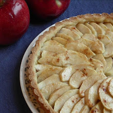 Apple Tart With Raspberry Glaze