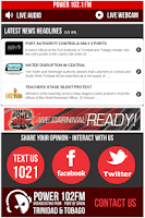 Screenshot of Power102FM