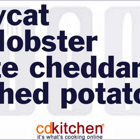Red Lobster White Cheddar Mashed Potatoes
