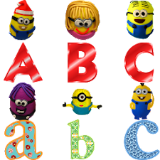 ABC with Minion for Kids