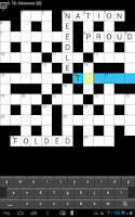 Screenshot of CROSSWORD PUZZLE (UK)