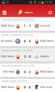 RAEC Mons - screenshot