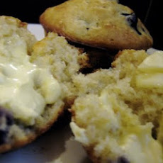 Better for You Lemon Blueberry Muffins
