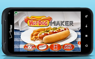 Screenshot of Hot Dog Maker