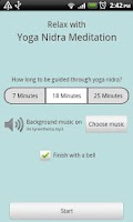 Screenshot of Yoga Nidra Meditation (Free)