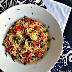 Blistered Tomato Angel Hair Pasta