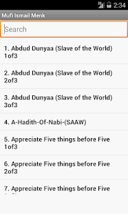 Mufti Ismail Menk mp3 Lectures - screenshot