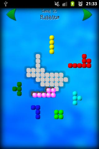 Shape Fitter puzzle game