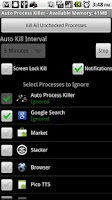 Screenshot of Auto Process Killer Free -1.5+