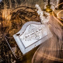 here comes the bride by Anderson Lindblom - Wedding Details ( plaque, bride )