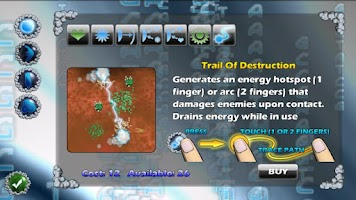 Screenshot of Micro Wars HD Demo