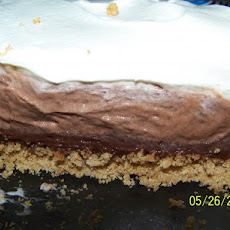 Cool Whip Triple Layer Chocolate Pie