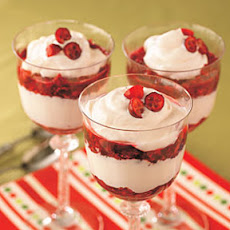 Cranberry Parfaits