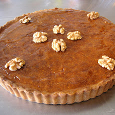 Prune-and-Hazelnut Tart