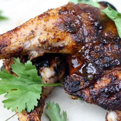 Sweet-Hot Chutney-Grilled Chicken