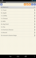 Screenshot of Shopping Grocery List - Free