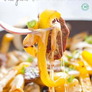 One Pan Cheese Steak Skillet