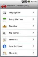 Screenshot of Shawweet Football Soccer Live