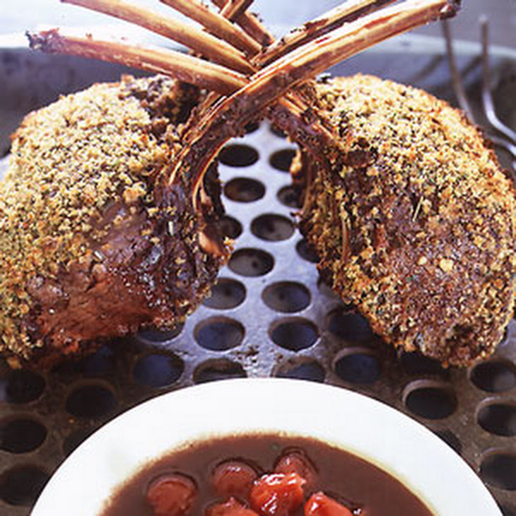 Rack of Venison with Sour Cherry-Port Sauce Recipe   Yummly