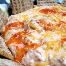 Barbecued Buffalo Wing Dip With a Twist