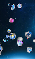 Screenshot of Cosmic Voyage Next Theme
