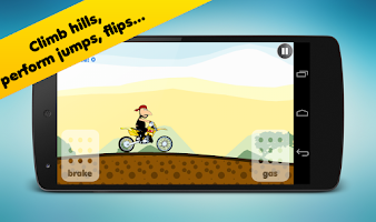 Screenshot of Hill Racing