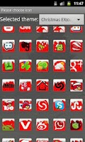 Screenshot of GO Launcher EX Theme Christmas