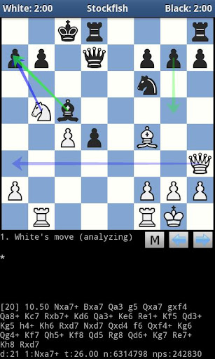 droidfish-chess for android screenshot