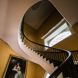 Spiral S by Jonathan Jackson - Buildings & Architecture Other Interior ( history, stairs, museum, architecture, historic )