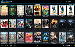Screenshot of Jadwal Cinema 21 & Blitz