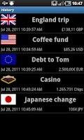 Screenshot of Cash Counter (ad-free)