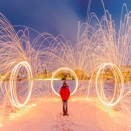 Magic!!! by Srdjan Vujmilovic - Abstract Fire & Fireworks ( canon, exposure, person, camera, land, like, landscape, nightphotography, photo, people, photography, portrait, dslr, astrography, macro, share, life, nature, photographer, weather, night, lonexposure, day, photoshop )