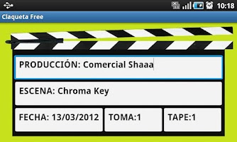 Screenshot of Claqueta Free
