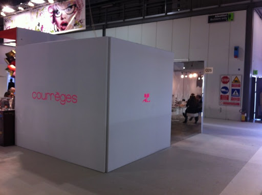 Courrèges Stand at MIDO