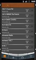 Screenshot of Georgia Radio